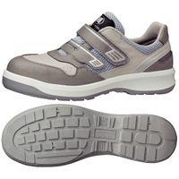 ミドリ安全 安全靴 G3695 マジックタイプ グレイ 24.0cm 1足(直送品)