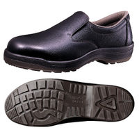 ミドリ安全 快適安全靴 ハイ・ベルデコンフォート CF200 ブラック 26.5cm(3E) 1足 (直送品)