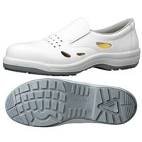 ミドリ安全 静電安全靴 ハイ・ベルデコンフォート CF200 ホワイト 25.5cm(3E) 1足 (直送品)