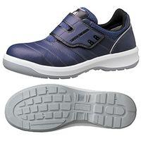 ミドリ安全 JSAA認定 作業靴 プロスニーカー G3595 24.0cm ネイビー 1足 1204000607(直送品)