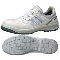 ミドリ安全 安全靴 G3690 ひもタイプ ホワイト 25.5cm 1足(直送品)