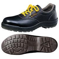 ミドリ安全 静電安全靴 ハイ・ベルデコンフォート CF211 ブラック 27.5cm(3E) 1足 (直送品)