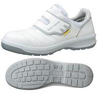 ミドリ安全 安全靴 G3595 静電 マジックタイプ ホワイト 24.5cm 1足(直送品)