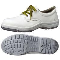 ミドリ安全 静電安全靴 ハイ・ベルデコンフォート CF210 ホワイト 25.0cm(3E) 1足 (直送品)