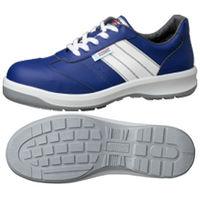 ミドリ安全 静電安全靴 ESG3890 eco ブルー 25.5cm 1足(直送品)