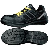 ミドリ安全 安全靴 G3690 ひもタイプ 静電 ブラック 23.5cm 1足(直送品)