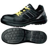 ミドリ安全 安全靴 G3690 ひもタイプ 静電 ブラック 24.0cm 1足(直送品)