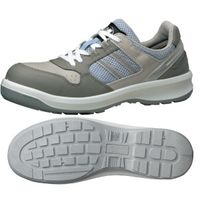 ミドリ安全 安全靴 G3690 ひもタイプ グレイ 小 22.0cm 1足(直送品)