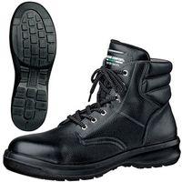 ミドリ安全 快適安全靴 ハイ・ベルデコンフォート G3220 ブラック 24.0cm(3E) 1足 (直送品)