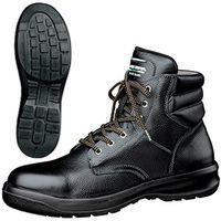 ミドリ安全 静電安全靴 ハイ・ベルデコンフォート G3220 ブラック 27.5cm(3E) 1足 (直送品)