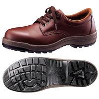 ミドリ安全 快適安全靴 ハイ・ベルデコンフォート CF210 ブラウン 24.5cm(3E) 1足 (直送品)
