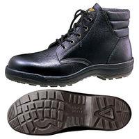 ミドリ安全 快適安全靴 ハイ・ベルデコンフォート CF220 ブラック 24.0cm(3E) 1足 (直送品)