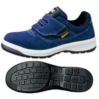 ミドリ安全 静電安全靴 G3555 マジックテープ ブルー 24.0cm(3E) 1足 (直送品)
