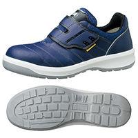 ミドリ安全 安全靴 G3595 静電 マジックタイプ ネイビー 小 22.5cm 1足(直送品)