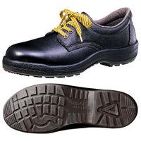 ミドリ安全 静電安全靴 ハイ・ベルデコンフォート CF210 ブラック 27.5cm(3E) 1足 (直送品)
