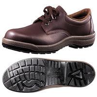 ミドリ安全 大きいサイズ 耐油・耐薬 安全靴 CF210NT ダークブラウン 29.0cm(3E) 1足 (直送品)