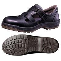 ミドリ安全 快適安全靴 ハイ・ベルデコンフォート CF205 ブラック 27.5cm(3E) 1足 (直送品)