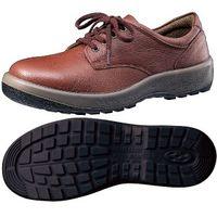 ミドリ安全 女性用 快適安全靴 ハイ・ベルデコンフォート LCF440 ブラウン 24.0cm(3E) 1足 (直送品)