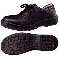 ミドリ安全 女性用 快適安全靴 ハイ・ベルデコンフォート LCF440 ブラック 25.0cm(3E) 1足 (直送品)
