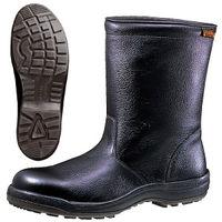 ミドリ安全 快適安全靴 ハイ・ベルデコンフォート CF240 ブラック 27.0cm(3E) 1足 (直送品)