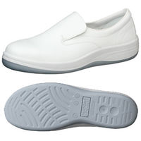 ミドリ安全 静電安全靴 SCR1200N ホワイト 27.5cm 1足(直送品)