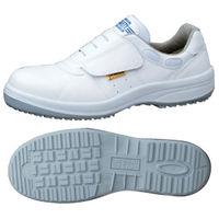 ミドリ安全 ハイグリップ静電安全靴 スニーカータイプ HGS595 ホワイト 26.5cm(3E) 1足 (直送品)