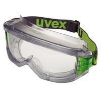 ミドリ安全 曇り止め マスク併用 保護めがね ゴグル ウルトラビジョン 透明 X-9301 1個(取寄品)