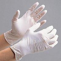 ミドリ安全 ニトリル手袋 ベルテ 753K 粉付き ホワイト SS 100枚入 1セット(100枚入)(直送品)