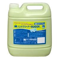 ミドリ安全 洗浄力アップ Mハンドクリーナー SUGOI 詰替用 減容容器 4.6kg×3本 1箱(4.6kg×3本)(直送品)