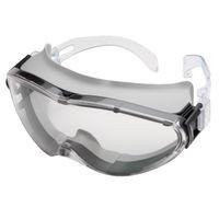 ミドリ安全 曇り止め 保護めがね ゴグル X-9302ゴーグラス グレー 1個(取寄品)