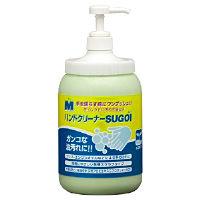 ミドリ安全 洗浄力アップ Mハンドクリーナー SUGOI ポンプ付ボトル 1本(直送品)