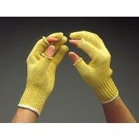 ミドリ安全 耐切創手袋 ケブラー MK-105  指きりタイプ 1双(直送品)