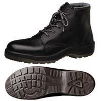 ミドリ安全 快適安全靴 ハイ・ベルデコンフォート CF120 ブラック 23.5cm(3E) 1足 (直送品)
