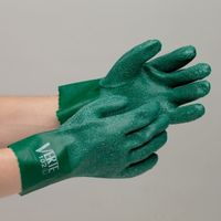 ミドリ安全 塩化ビニール製手袋 VERTE-102 L 10双入 1セット(10双入)(直送品)