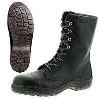 ミドリ安全 快適安全靴 ハイ・ベルデコンフォート CF130 ブラック 23.5cm(3E) 1足 (直送品)