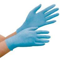 ミドリ安全 ニトリル手袋 ベルテ 782N 粉付き ブルー LL 100枚入 1箱(100枚入)(直送品)
