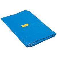 ミドリ安全 ブルーシート 3.6×5.4m  1枚(直送品)