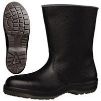 ミドリ安全 快適安全靴 ハイ・ベルデコンフォート CF140 ブラック 23.5cm(3E) 1足 (直送品)