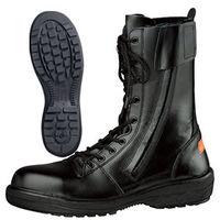ミドリ安全 小さいサイズ 消防 静電安全靴 RT731F P-4 ブラック 23.0cm(3E) 1足 (直送品)