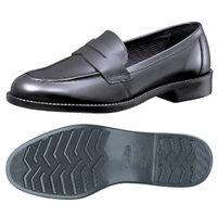 ミドリ安全 紳士靴 TFー1 ブラック 24.0cm  1足(直送品)