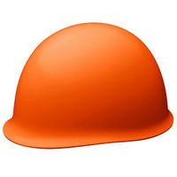 ミドリ安全 ヘルメット ABS オレンジ 頭囲/55cm~62cm SC-MB RA 1個 (直送品)