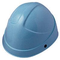 ミドリ安全 ヘルメット ABS ライトブルー 頭囲/55cm~62cm SC-3H KP付 1個 (直送品)