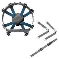 ミドリ安全 ヘルメット関連用品 ヘルメット内装品 8T-LL-内装一式 1式 (直送品)