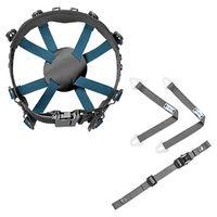 ミドリ安全 ヘルメット関連用品 ヘルメット内装品 内装一式 8T-LL-QRA 1式 (直送品)