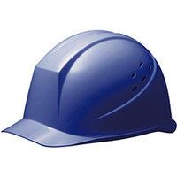 ミドリ安全 ヘルメット PC(ポリカーボネート) ブルー 頭囲/55cm~62cm SC-11PV RA KP付 1個 (直送品)