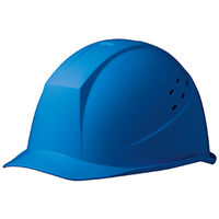 ミドリ安全 ヘルメット ABS ブルー 頭囲/55cm~62cm SC-11BV RA KP付 1個 (直送品)