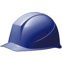 ミドリ安全 ヘルメット PC(ポリカーボネート) ブルー 頭囲/55cm~62cm SC-12PV RA 1個 (直送品)