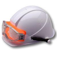 ミドリ安全 曇り止め 保護めがね ゴグル オレンジ X-9302 SPG 1個(取寄品)