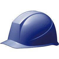 ミドリ安全 ヘルメット PC(ポリカーボネート) ブルー 頭囲/55cm~62cm SC-12P RA KP付 1個 (直送品)