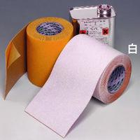 ミドリ安全 屋外用区画表示テープ キクラインテープ NO317 白 50mm×5m 1巻(直送品)